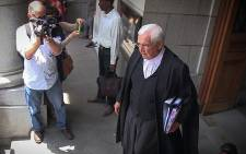 Francois van Zyl exits the Western Cape High Court on 24 November 2014. Picture: Aletta Gardner/EWN
