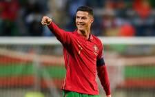 Portugal's Cristiano Ronaldo. Picture: @EURO2020/Twitter