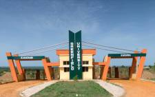FILE: The Greenfield University in Kaduna state, Nigeria. Picture: gfu.edu.ng/