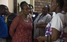 Gauteng Health MEC Gwen Ramokgopaon on a site visit on 28 December 2017  to the Daveyton Main Clinic which was accused of turning away a mother and her ill child. Picture: Ihsaan Haffejee/EWN