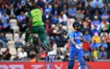 Proteas vs India at the 2019 Cricket World Cup. Picture: @Cricketworldcup/Twitter