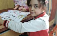 Seven-year-old Bana Alabed. Picture: Twitter @AlabedBana.