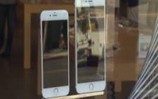 FILE: Apple's iPhone 6s and iPhone 6s Plus. Picture: Supplied.