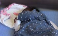 One of the abandoned babies being looked after at the Door of Hope. Picture: Abigail Javier/Eyewitness News