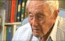 Botanist and ecologist David Goodall. Picture: Screengrab.