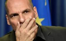 FILE: Greek Finance Minister Yanis Varoufakis. Picture: AFP.