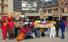 FILE: Protesters from different political parties at Church Square in Pretoria ahead of a march to the Union Buildings on 12 April 2017 to call for the resignation of President Jacob Zuma. Picture: Louise McAuliffe/EWN.