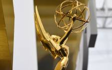 In this file photo an Emmy statuette is seen on the red carpet before guests arrive for the 71st Emmy Awards at the Microsoft Theatre in Los Angeles on September 22, 2019. Picture: AFP.