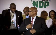 President Jacob Zuma addressed hundreds at the Tshing sports ground in Ventersdorp to mark Youth Day on 16 June 2017. Picture: Reinart Toerien/EWN.