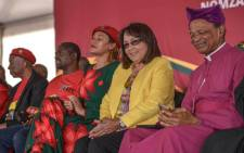Cape Town mayor Patricia de Lille attends the EFF's memorial service for the late Winnie Madikizela-Mandela in Brandfort on 11 April 2018. Picture: @EFFSouthAfrica/Twitter
