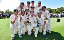 The Australian cricket team are back on top the rankings as the number 1 Test cricket side in the world. Picture: Australian Cricket Team/Facebook.