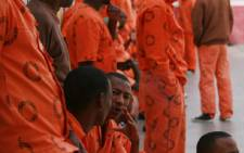 Convicted prisoners inside the Johannesburg Central Prison on 2 December 2008. Picture: Taurai Maduna/Eyewitness News