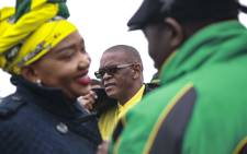 African National Congress (ANC) secretary-general Ace Magashule campaigning in Cape Town in a last-ditch effort to consolidate the ANC's support in the only province not under the ANC's control. Picture: Cindy Archillies/EWN