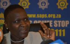 National Police Commissioner General Riah Phiyega. Picture: Christa van der Walt/EWN
