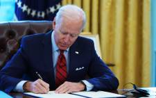 US President Joe Biden. Picture: AFP.