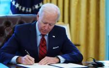 US President Joe Biden. Picture: AFP.