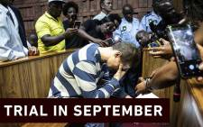 Dros rape accused Nicholas Ninow appears in appears in the Magistrates Court in Pretoria on 5 March 2019. Picture: Abigail Javier/EWN