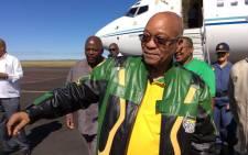 FILE: President Jacob Zuma. Picture: Twitter/@MYANC.