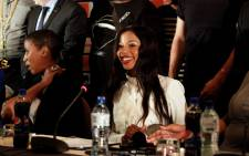 Songstress Kelly Khumalo. Picture: EWN.