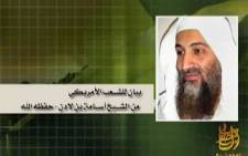 FILE: This is a still image from a video titled 'Message to the American People' from Osama Bin Laden. Picture: AFP