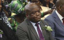 KZN Premier Sihle Zikalala at the memorial service of Dr Joseph Shabalala in Ladysmith. Picture: Xanderleigh Dookey/EWN.