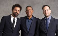 FILE: Animated Feature co-nominees for 'Spiderman Into the Spider-Verse' Robert Persichetti Jr. (L), Peter Ramsey (C) and Rodney Rothman (R) pose during a photo session ahead of the 91st Oscars Nominees Luncheon at the Beverly Hilton hotel on 4 February 2019 in Beverly Hills. Picture: AFP