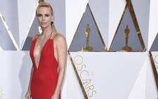 Charlize Theron arrives for the 88th annual Academy Awards ceremony. Picture: EPA/Paul Buck