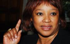 Nelson Mandela's daughter Zindzi. Picture: Supplied.