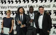 'As Far as I Can Walk', a humanistic story on the need to find one's place in the world and about a love whose deepest proof may be the most painful, won the Crystal Globe, the main prize of the Karlovy Vary International Film Festival. Picture: Twitter/@KVIFF