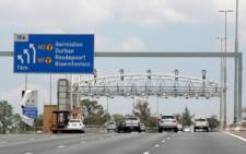 Gantries on Gauteng highway. Picture: Taurai Maduna/EWN