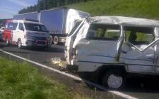 The RTMC has renewed its plea with drivers to practice caution on the roads. Picture: ER24