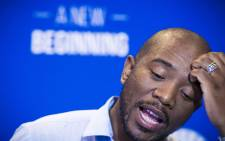 DA leader Mmusi Maimane briefs the media on their way forward after the Gauteng High Courts ruling that Jacob Zuma has to personally pay all legal costs to the tune of R6 million of all parties involved when he attempted to review the Public Protector's State of Capture report. Picture: Thomas Holder/EWN