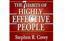 Stephen Covey's The 7 Habits of Highly Effective People.