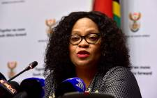 Minister of Communications Nomvula Mokonyane. Picture: GCIS.