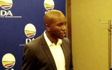 FILE: The DA's Gauteng leader Mmusi Maimane on 13 January 2014. Picture: Reinart Toerien/EWN.