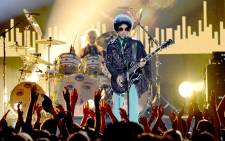 LAS VEGAS, NV – 19 MAY: Musician Prince performs onstage during the 2013 Billboard Music Awards at the MGM Grand Garden Arena on 19 May, 2013 in Las Vegas, Nevada. Picture: AFP.