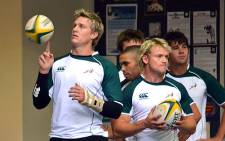 Boks in training.
