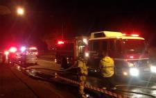 Tshwane Emergency Services battled over 60 blazes in the Pretoria area on Saturday. Picture: Jacob Moshokoa/EWN.