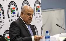 Pravin Gordhan at the commission of inquiry into state capture on 19 November 2018. Picture: Abigail Javier/EWN