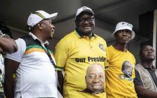Gauteng Premier David Makhura in Tembisa during an ANC election campaign rally. Picture: Abigail Javier/EWN