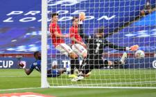 Chelsea will face London rivals Arsenal in the final on 1 August thanks to a pair of embarrassing blunders from De Gea in United's 3-1 loss at Wembley on Sunday. Picture: @ChelseaFC/Twitter