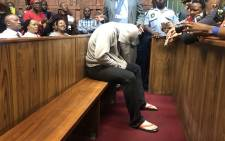 The man accused of raping a seven-year-old girl at a Dros restaurant appears in the Pretoria Magistrates Court on 2 October 2018. Picture: Christa Eybers/EWN