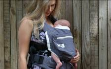 The Ubuntu Baba baby carrier. Picture: Ubuntu Baba