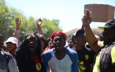 FILE: Violence erupted last week on the eve of exams, with a group of students outlining several demands related to fees and exclusions. Picture: Andiswa Mkosi/Primedia.