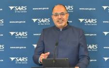 FILE: South African Revenue Service (Sars) Commissioner Edward Kieswetter. Picture: @sarstax/Twitter.