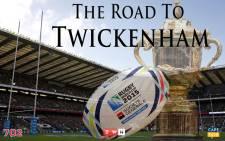 The Road to Twickenham.  Picture: EWN