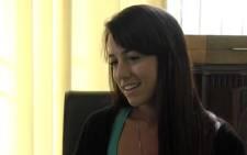 Reeva Steenkamp's friend Gina Myers.