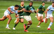 The Springboks beat Argentina 29-10 in their second Rugby Championship match on 21 August 2021. Picture: @Springboks/Twitter