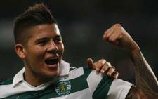 Sporting have agreed to sell Argentina's World Cup left back Marcos Rojo to Manchester United. Picture: Facebook.