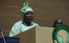 FILE: African Union Commission chairperson Nkosazana Dlamini-Zuma. Picture: African Union Facebook page.